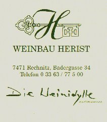 E-mail to Klaus Herist in Rechnitz in Südburgenland, the son of Isolde & Hans
